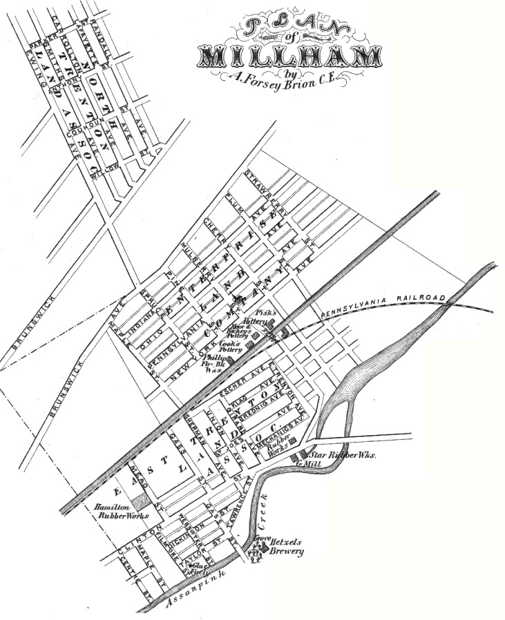 Millham little 1875 map