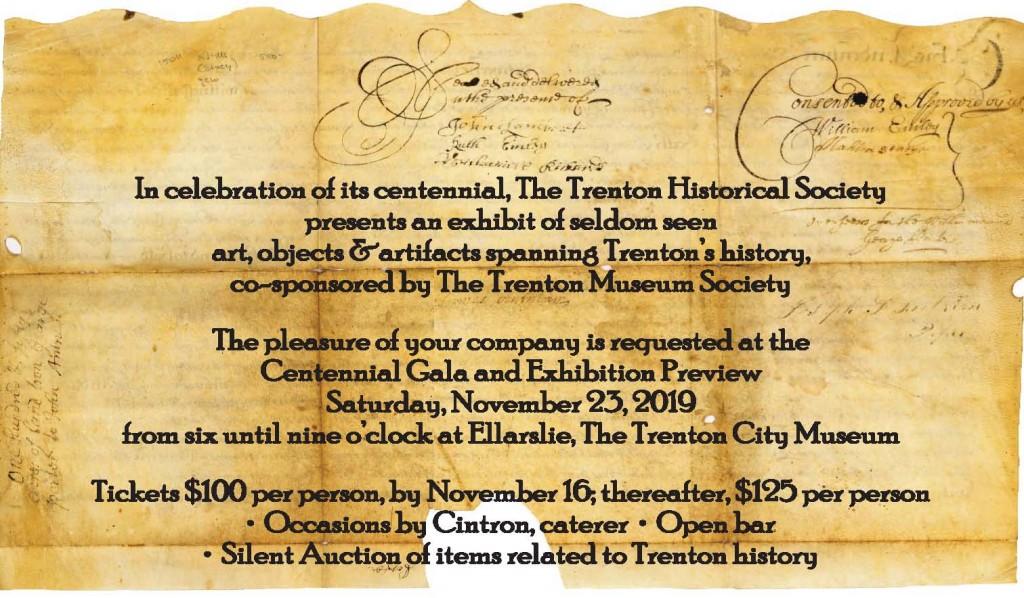 Trenton Eclectic website & invite postcard